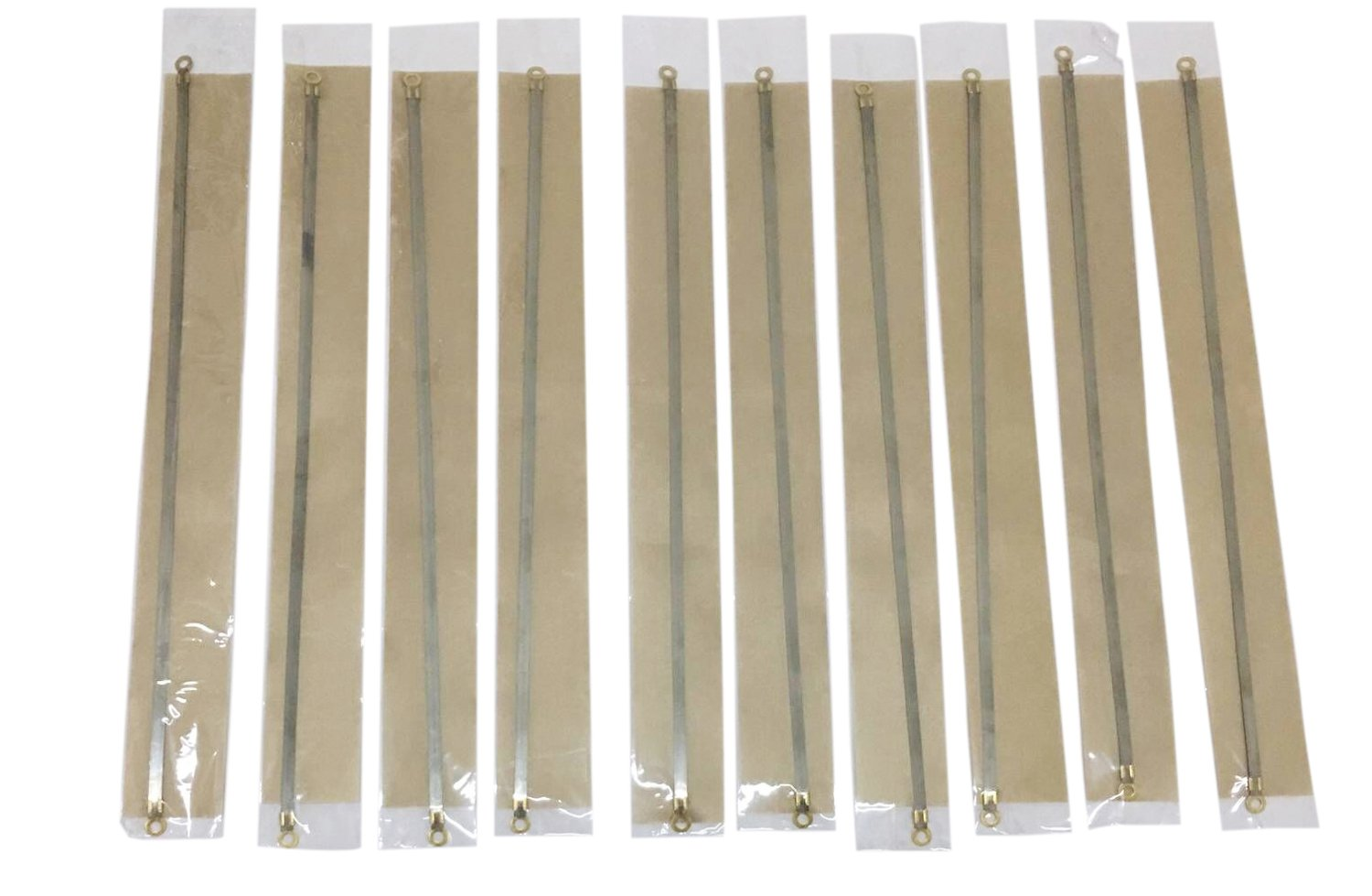 10PCS 12'' Sealer Replacement Element Grip and Teflon Tapes, Impulse Sealer Repair Kits Heat Seal Strips For Most Hand Sealers, Length: 12 inch (300mm), Seal width: 0.2 inch (5mm)