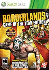 Action RPG Meets First Person Shooter!!! Borderlands is the first 4 player Co-op Role Playing Shooter; combining the intuitive reward systems of action RPGs and the frantic-paced combat of First Person Shooters. The Game of the Year Edition i...