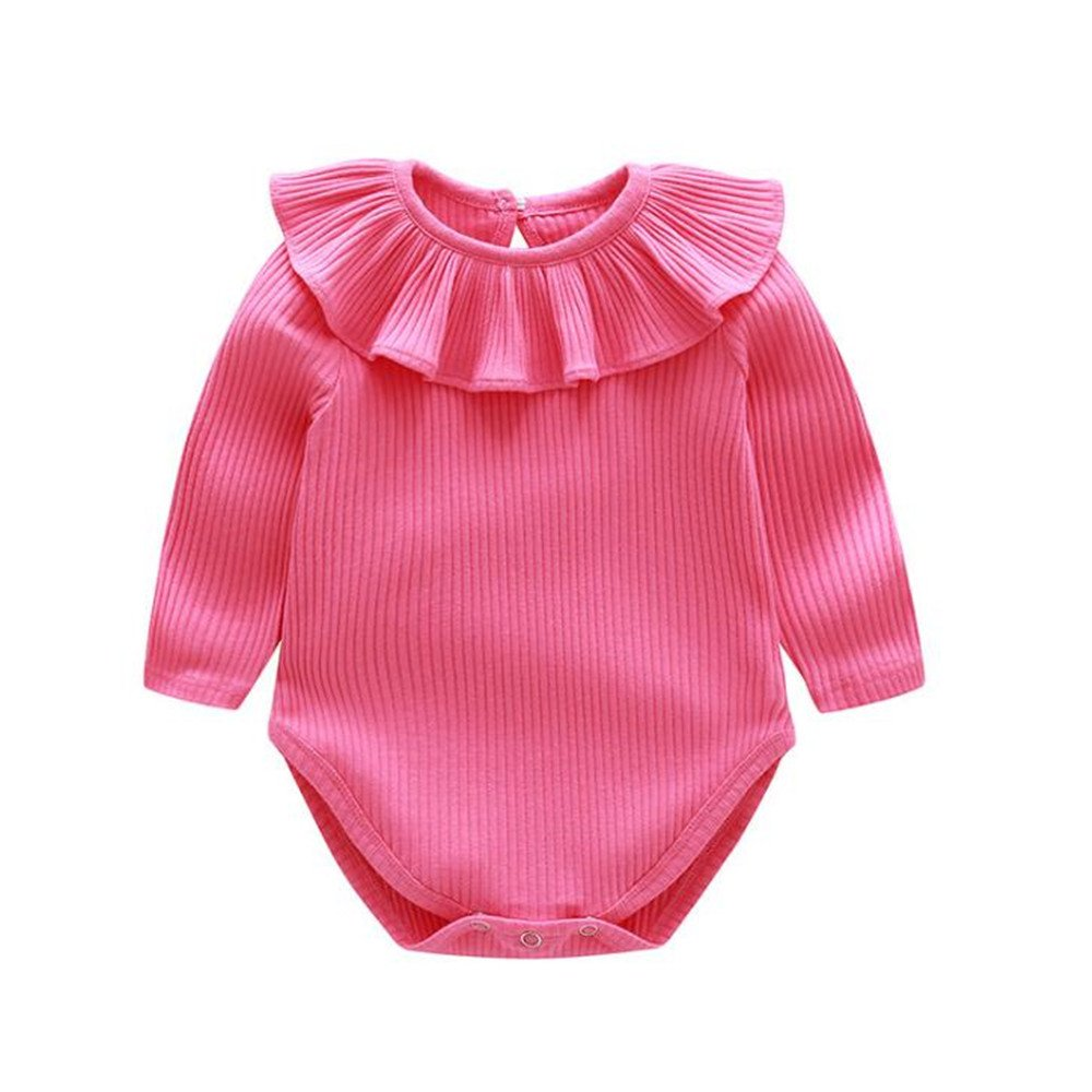 KiDaDndy Cotton Baby Romper Baby Sweet-Colored Romper Baby Girl Romper Baby Boy Romper