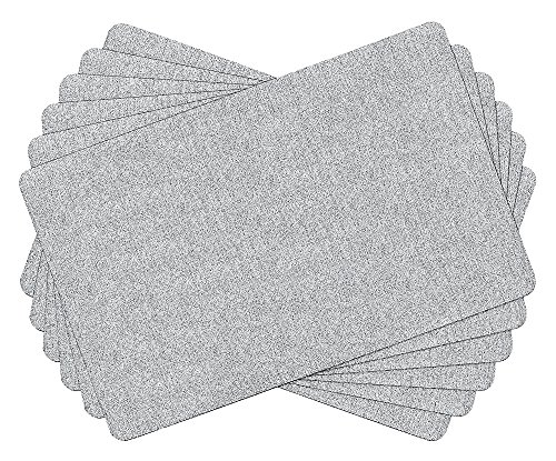 SiCoHome Waterproof Placemats Plastic Kitchen