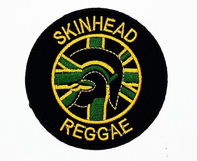 MNC parche negro Skinhead Reggae música banda Heavy ...