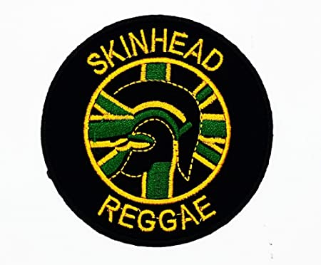 MNC parche negro Skinhead Reggae música banda Heavy Metal Punk ...