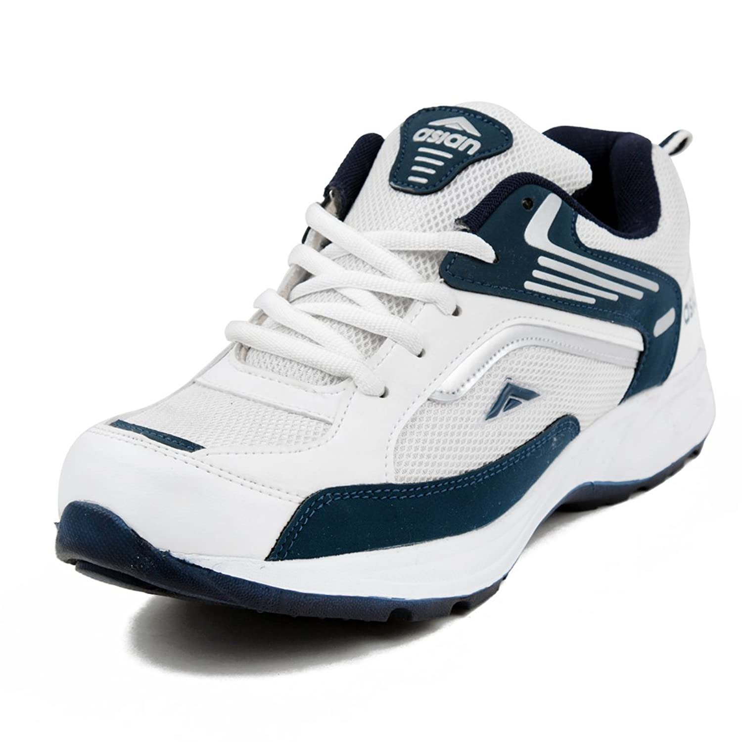 Asian Shoes Wonder 13 White Navy Blue Mens Sports Shoes Buy Online
