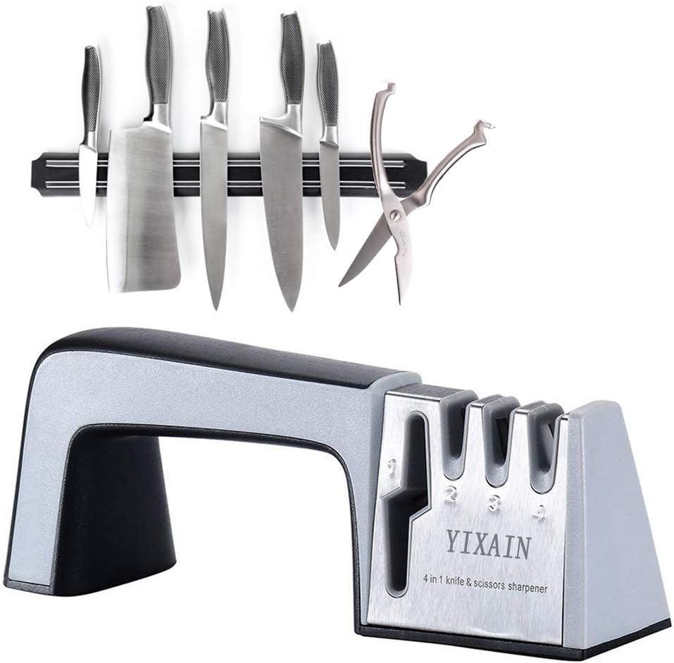 Scissor Sharpener-YIXIAN Professional Knife Sharpener– A Knife Sharpener that's durable and easy to use