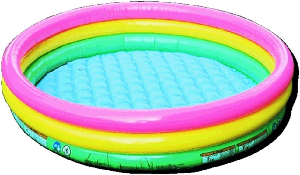 Bañeras Bañera inflable piscina de color piscina juguetes inflables para niños pelota oceánica para bebés bola de olas piscina para pescar plegable material de PVC ecológico sin olor Bañeras