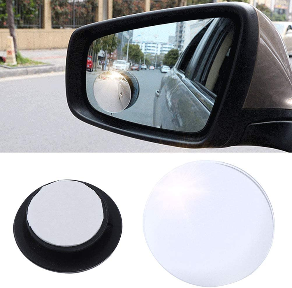 Vosarea 1 PC Car Automotive High Definition Universal Interior Wide Angle Suction Cup Flat Rear View Mirror Makeup Mirror