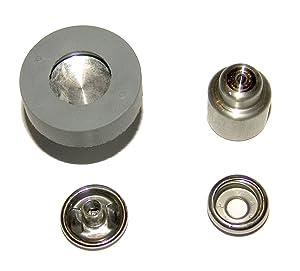 Hoover Press-N-Snap Tool Replacement Dies Cap & Socket, 1 Set