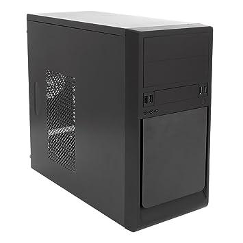 UNYKAch UK-6023 - Caja de Ordenador Torre (Micro ATX, 500 W, Fuente incluida) Color Negro: Amazon.es: Informática