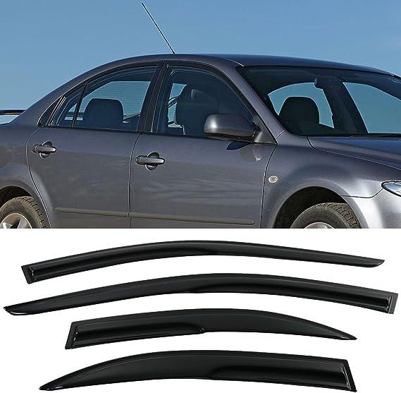Wind Deflectors Mazda 6 4//5 doors 05- Facelift