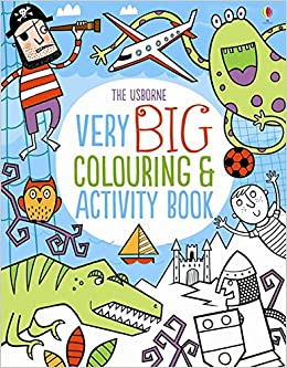 Very Big Colouring and Activity Book (Colouring Books): Amazon.co.uk ...