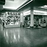 Vintage photo of Shopping Mall North Terminal Gatwick