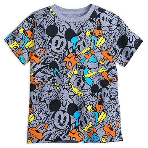Disney Mickey Mouse and Friends Cartoon T-Shirt for Boys Size XXS (2/3) (Mickey Mouse Costumes T-shirt)