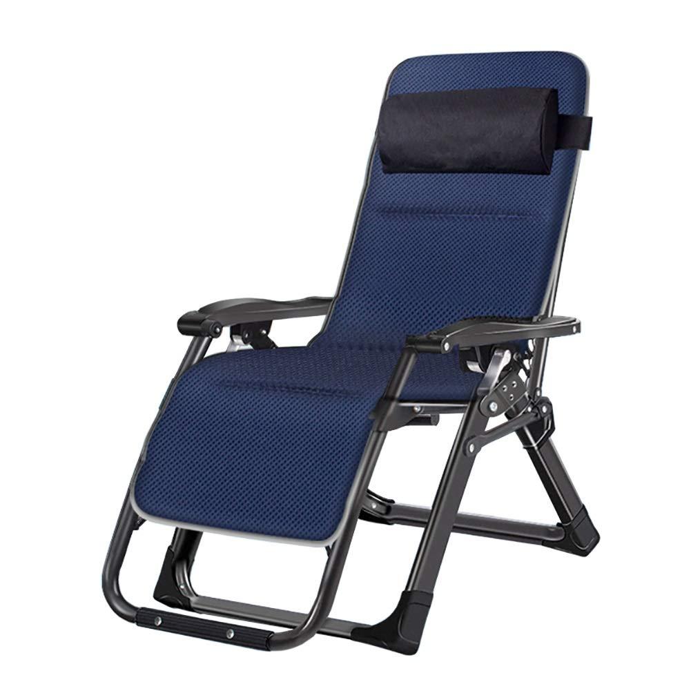 ラウンジチェア 屋外の庭のポーチのためのゼロ重力リクライニングチェアの長椅子、庭/浜/プールのための折りたたみ椅子、二重アルミ合金レンチロックのバックル B07SN7SDGT