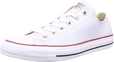 Converse Women's Chuck Taylor All Star Leather Ox Sneaker, 6.5 us