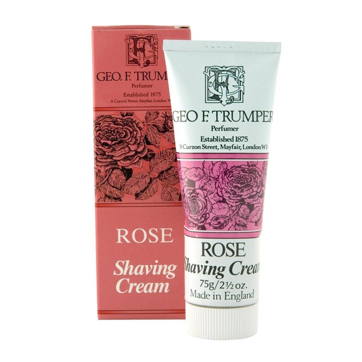 Geo F. Trumper Rose Soft Shaving Cream 75 g cream