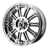 XD Series by KMC Wheels XD795 Hoss Triple Chrome Plated Wheel (18x9''/6x135mm, -12mm offset)