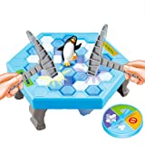 Huangyi Penguin Trap Game Penguin Ice Breaking Puzzle Desktop Game Parent-child Game