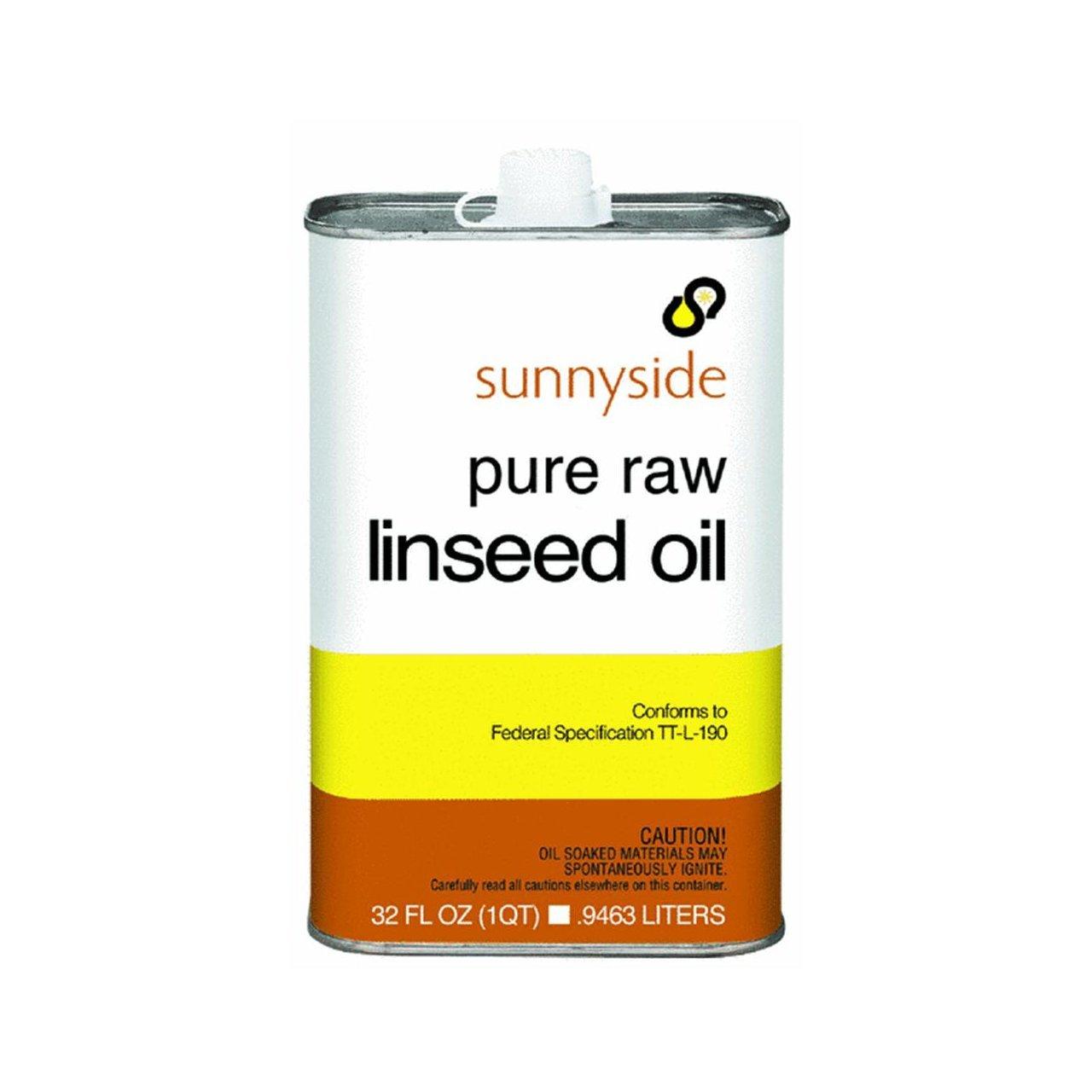 Amazon Com Sunnyside Corp 87332 Raw Linseed Oil Industrial