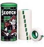 Scotch Magia Promoción 8-193332, mate e invisible, 19 mm x 33 m de metal, 8 rollos