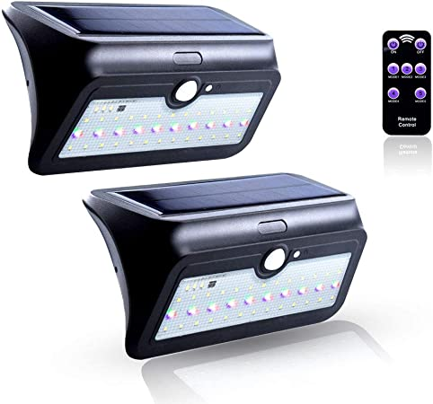 RGB LED Outside Light Motion Sensor Sensor Entrance Door Wall Lamp Radio Control