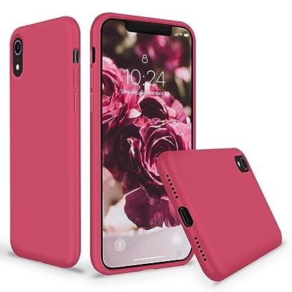 Amazon.com: Surphy - Carcasa de silicona para iPhone XR ...
