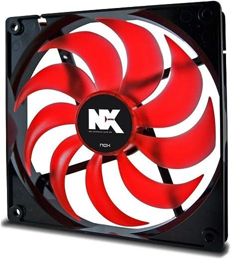 Nox NX140 Carcasa del Ordenador Ventilador - Ventilador de PC ...