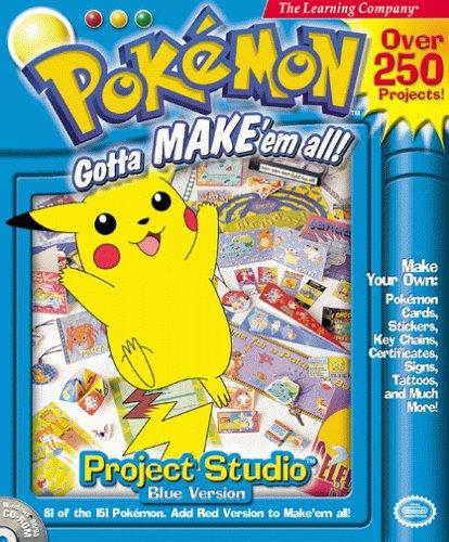 Pokemon Projects Studio: Blue Version