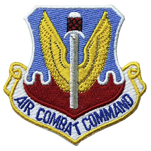 Air Combat Command Patch Full Color (Patch Combat Command Air)