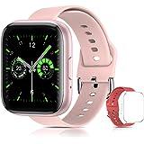 Smartwatch Reloj Inteligente ,Sebami Pulsera de actividad Impermeable IPX5 de 1.55 inch Pantalla Completa Táctilpara Hombre M