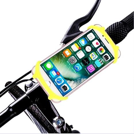 LYX Bicicleta Titular de teléfono móvil, Silicona Ajustable Moto ...