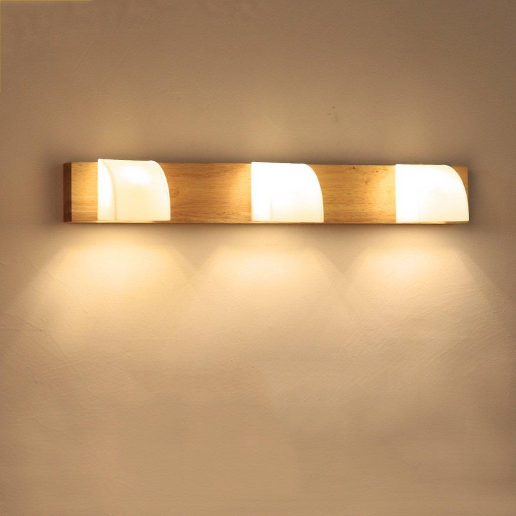&Spiegelleuchte Spiegelleuchte, LED-Waschraumlampen, einfache Spiegelscheinwerfer (Farbe   weißes Licht-54  7.5cm)