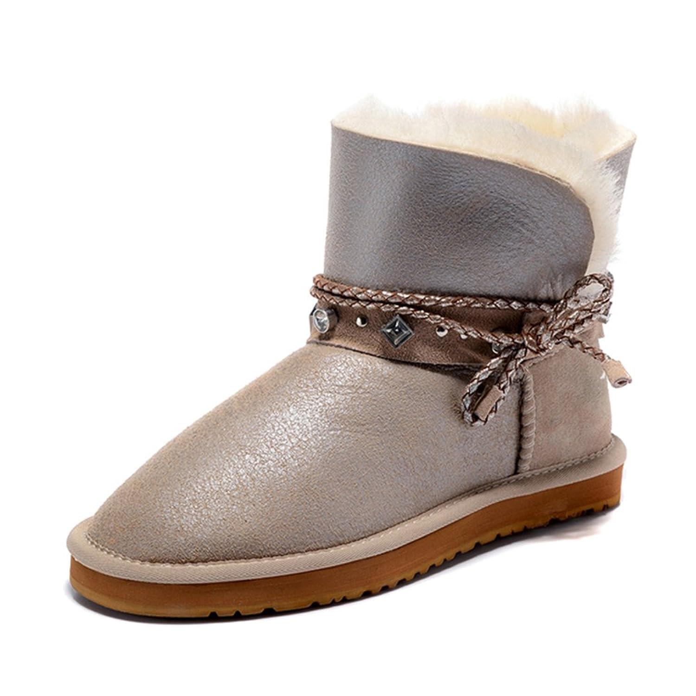 Classic Sheepskin Fur keep warm women winter snow boots 2396