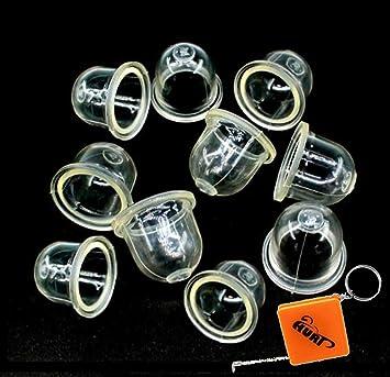 10 Primer Bulbs 4226-121-2700 for Zama Stihl Weedeater FS 55 56 70 45 46 40
