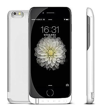 Carcasa iphone 6s, carcasa iPhone 6, DoSHIn? 7000 mAh iPhone cargador extraíble para iPhone 6S/6 case portátil carga para Apple Iphone 6/6S (4,7 ...