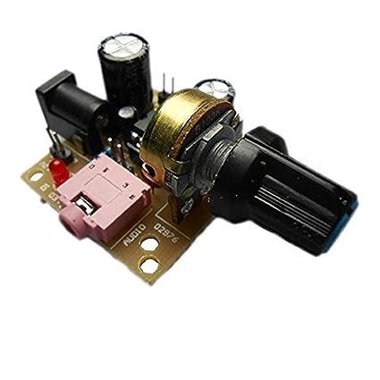 Nueva LM386 Super MINI amplificador junta amplificador de potencia para Arduino DC 3 V-12