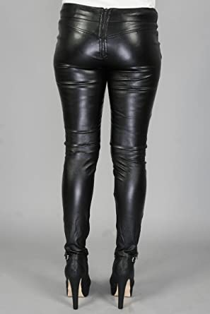 Ladies pvc jeans
