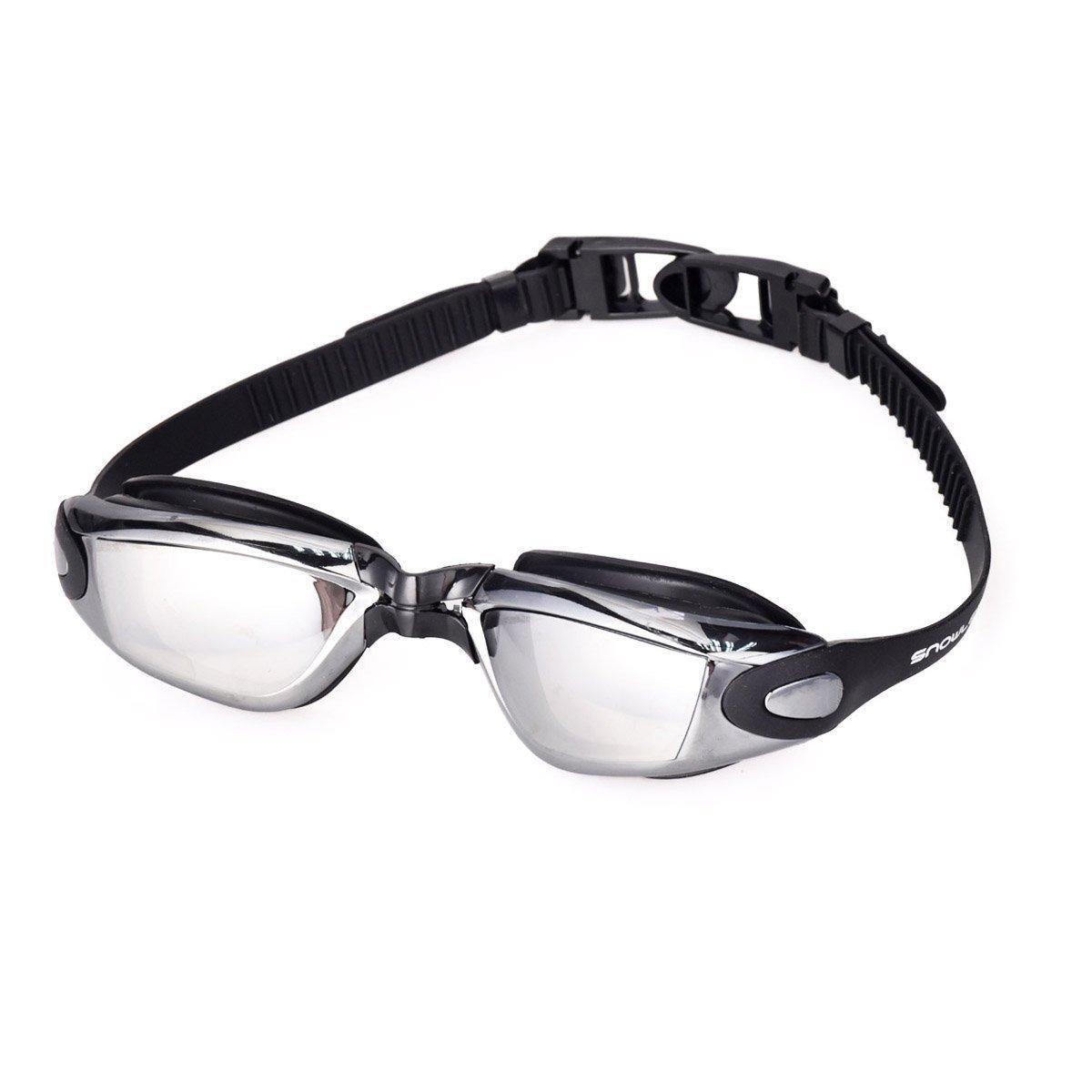 Sin & Mi Swim Goggles Professional Anti Fog no leaking UV保護Wide View Swim Goggles for大人ユースキッズレディースメンズ   B07D28K552