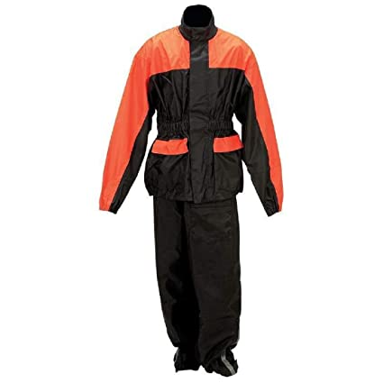 large discount how to find good selling Amazon.com : Waterproof PVC Motorcycle Rain Suit Jacket ...