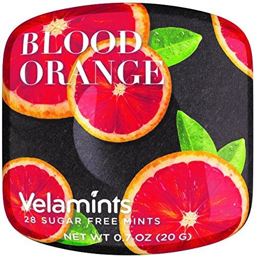 Velamints Expressions Mints Tin, Blood Orange, 20 Gram (Pack of 6)