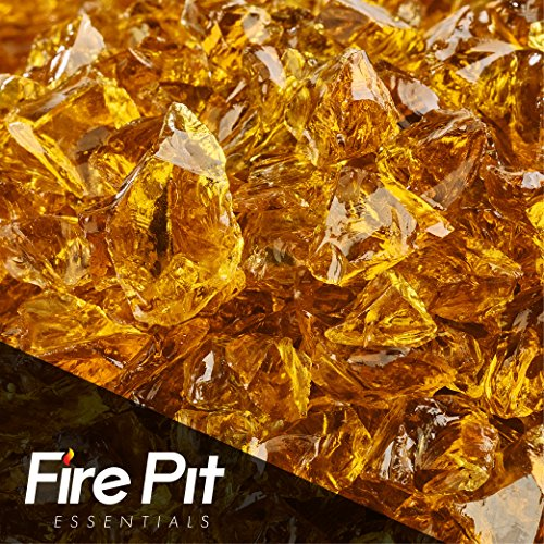 Cowboy Brown Crushed Fire Glass 3/8″-1/2″ Firepit Glass 10 Pounds