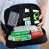 Supersnailman Portable Emergency First Aid Kit Bag Pack for Home Travelling and Outdoor Sport