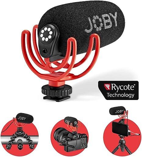 JOBY Wavo Micrófono Compacto para Vlogging con Patrón ...