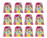 New Disney Princess Non Woven Sling Bag with Hangtag (5 Princess) x 12
