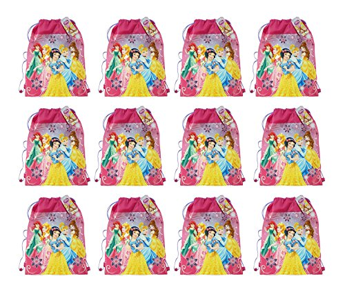 New Disney Princess Non Woven Sling Bag with Hangtag (5 Princess) x (Disney Princess Slumber Bag)