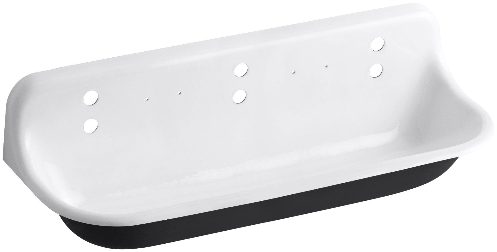 KOHLER K-3203-0 Brockway Wash Sink, White by Kohler