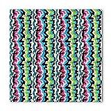 Search : Geometric Bandana by Ambesonne, Punk Bizarre Retro Formless Color Lines Grunge Hipster Graffiti Urban Artwork, Printed Unisex Bandana Head and Neck Tie Scarf Headband, 22 X 22 Inches, Multicolor