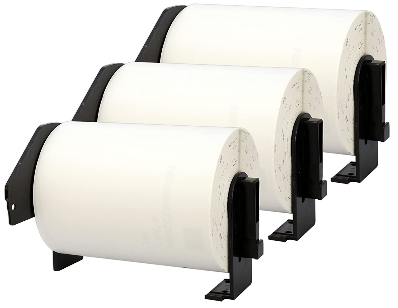 10 Compatibles Rollos DK11241 DK-11241 Etiquetas 102mm x 152mm Etiquetas DK-11241 para Brother P-Touch QL-1050 QL-1050N QL-1060N (200 Etiquetas por Rollo) 7df22d
