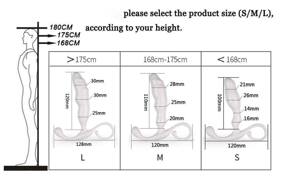 Prostate vibrator length