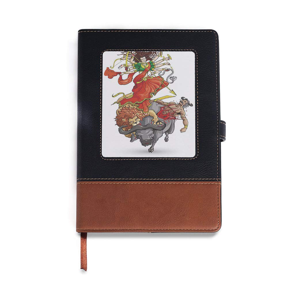 6.1 x 8.6 ,Suitable for choosing artists,Abstract Ombre Vivid Rainbow Colored Lace Mandala Tie Thick Notebook,Ethnic,A5