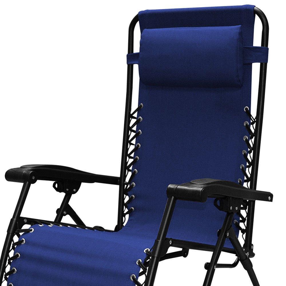 Caravan Sports Infinity Zero Gravity Chair - 2 Pack, Blue by Caravan Canopy (Image #4)